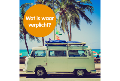 Wat is verplicht in de auto?