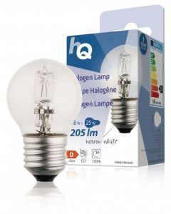 10026450-HQ Halogeenlamp kogel E27 18Watt-0