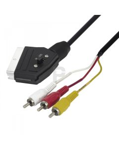 106015-Scart - tulp kabel in/out -0